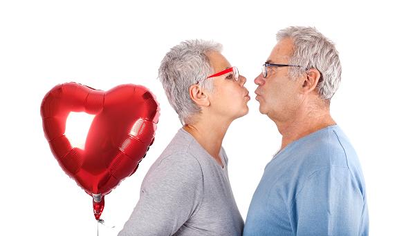 Les bienfaits de l'amour pour senior